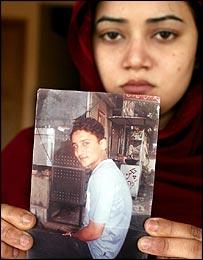 Sara, wife of Zain Afzal