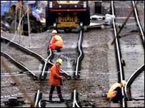 Rail engineers