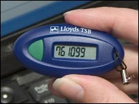 Lloyds TSB's new web security device