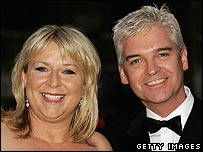 This Morning hosts Philip Schofield and Fern Britton