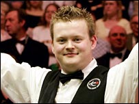 World champion Shaun Murphy