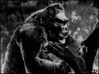 Still from original King Kong, AP