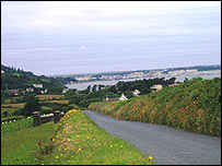 View of Ramsey from Maughold - picture courtesy of the Isle of Man government