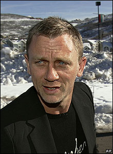 Daniel Craig at the premiere for Layer Cake