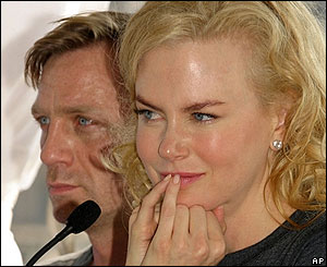 Daniel Craig and Nicole Kidman