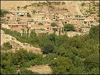 The village of Zardeh, in the Iranian district of Kermanshah