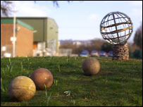 Earth - SpacedOut sculpture (SpacedOut)