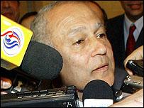 وزير الخارجية المصري أحمد ابو الغيط