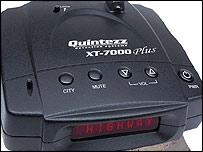 Quintezz XT7000 radar detectors