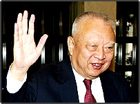 Hong Kong's former Chief Executive Tung Chee-hwa
