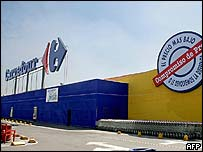Carrefour in Mexico