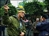 Al-Aqsa Brigade member in the West Bank
