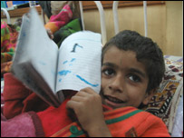 Majaz, a quake victim
