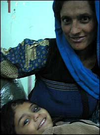Altaf and his mother Taaja