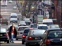 A Barnet road