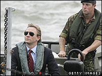 Daniel Craig and marine