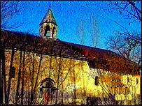 Christian church in Azerbaijan