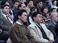 The Question Time audience in Shanghai
