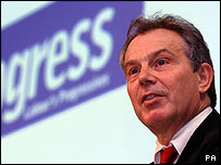 Tony Blair at the Progress conference