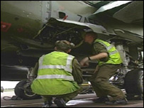 RAF Lossiemouth maintenance staff