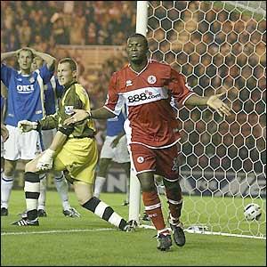 Yakubu scores for Middlesbrough