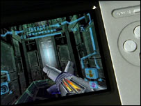 Screegrab of Metroid Prime on the DS, Nintendo
