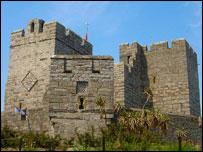 Castle Rushen - picture courtesy of manxscenes.com