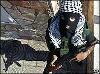 Militant of the al-Aqsa Martyrs' Brigades