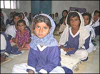 Schoolchildren in Pakistan