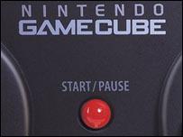 Close-up of Nintendo GameCube, Nintendo