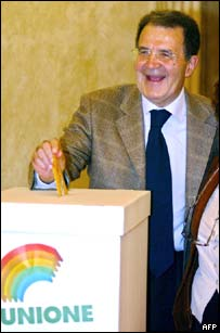 Former Italian premier and European Commission President Romano Prodi