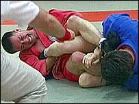 Sombo wrestling (from the British Sombo Federation)