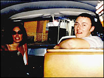 Joanne Lees and Peter Falconio in their camper van