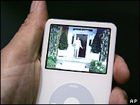 Image of Apple's video iPod