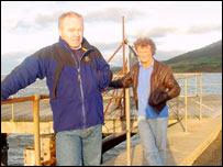 Emlyn Cullen and Emyr Evans