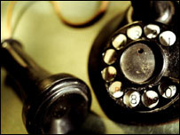 Old-fashioned phone, Eyewire