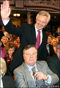 David Davis and Ken Clarke