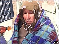 Woman in Aegean coast city of Izmir