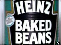 Tin of Heinz baked beans