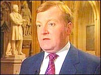 Charles Kennedy at Parliament after the terror debate