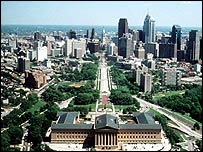 General view of Philadelphia