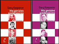 Libros de Gary Kasparov.