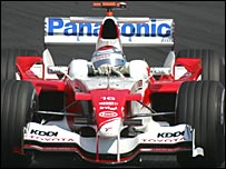 Toyota's Jarno Trulli