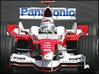 Toyota's Jarno Trulli