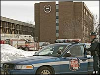 State police at the Sheraton hotel in Brookfield, Milwaukee