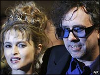 Helena Bonham Taylor and Tim Burton