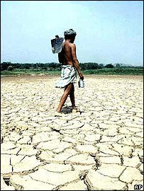 Drought in Rajasthan in 2001