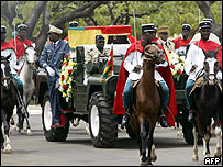 Gnassingbe Eyadema's funeral
