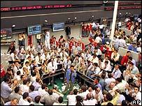 Brazilian Mercantile and Futures Exchange in Sao Paulo