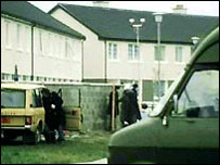 Irish police laid siege to the house where the industrialist was held